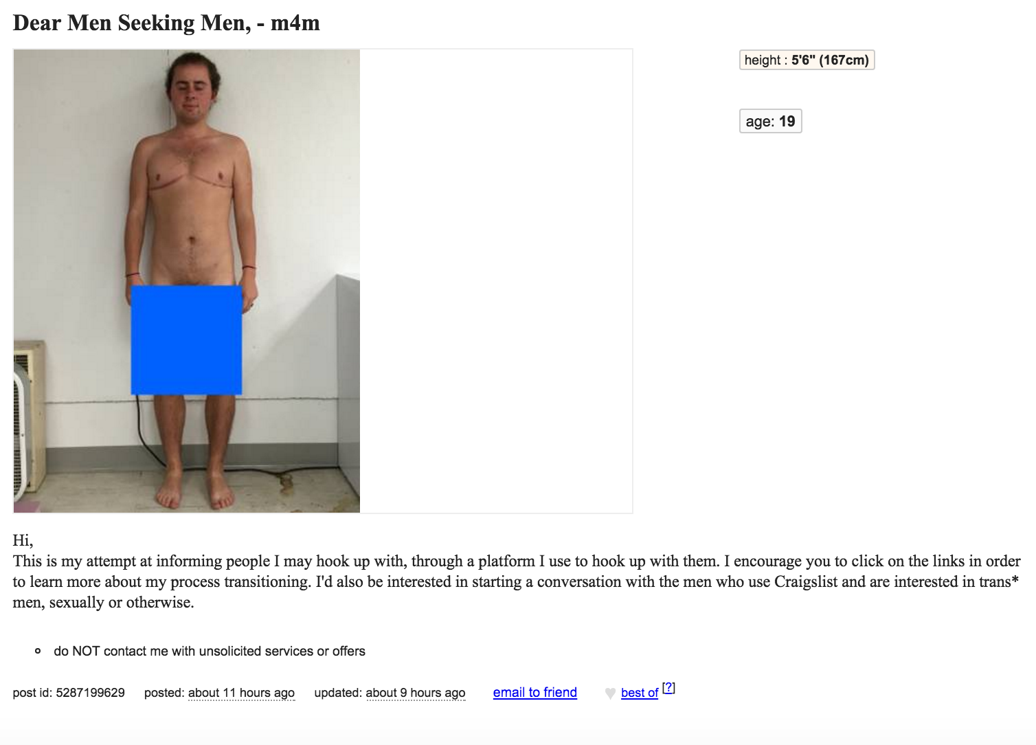 craigslist dating gay